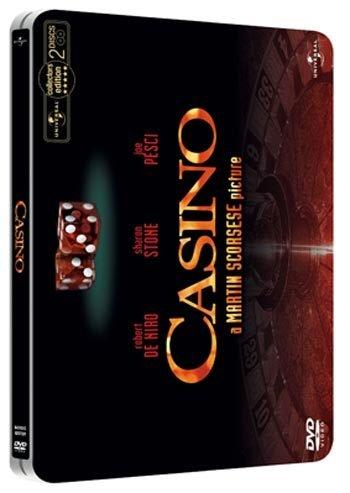 Casino Steelbook 2 disc (Robert de Niro) R2 New DVD