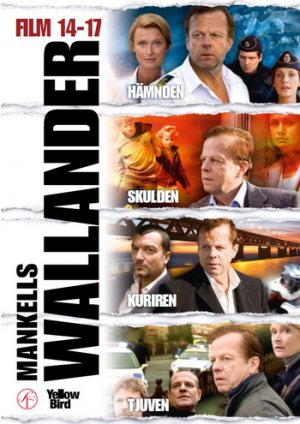 Wallander 14-17 movie box (English subtitles) New DVD