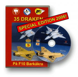 SAAB 35 Draken at the F10 Wing (Eng subs) New DVD