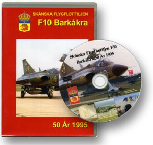 The Swedish Wing F10 at Barkåkra 50 years 1995 New DVD