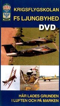 War Flightschool F5 Ljungbyhed Swedish Airforce New DVD