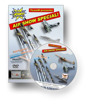 AIR SHOW SPECIAL - Gothenburg Aero Show 2009 New DVD
