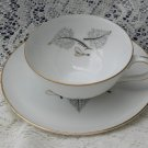 Harmony House Flair Pattern Cup and Saucer