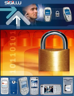 Sigillu Encrypted Secure Phone: Nokia 6680 version