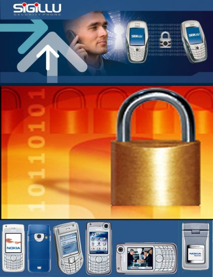Sigillu Encrypted Secure Phone: Nokia 6682 version