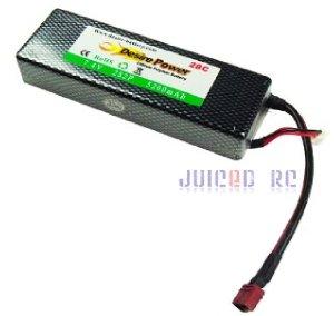 Lipo Battery 5200 7.4v 2S2P 28c