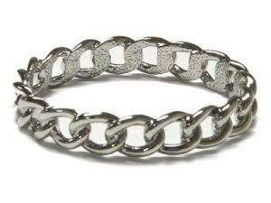 Unique Chain Shape Stainless Steel Bangle Bracelet - FREE SHIPPING