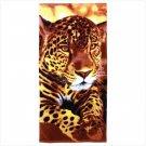 Cheetah Print Beach Towel