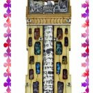 Rare New Wood Crystal Mezuzah judaica Torah Doorpost C