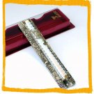 "New 7.5 "" Metal Mezuzah judaica Israel Doorpost Torah"