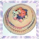 3 LOT MAGEN DAVID Knitted Yarmulka Kippa Kipa Yarmulke