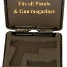 IMI Pistol/magazine polymer case Glock,sig saur,beretta,H&K,1911,colt,cz,Jericho