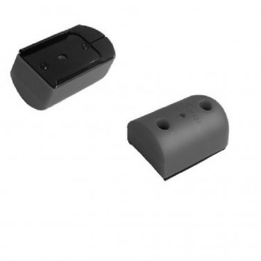 New IMI GRAY  Rubberized Pistol Magazine Floorplate