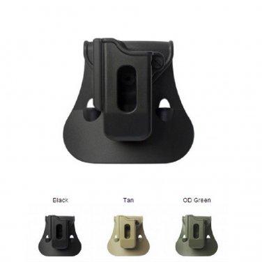 IMI New Black Green Desert Tan Single Mag Pouch for EAA Witness 40/9