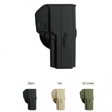 IMI OD Green One Piece Polymer Holster for Sig P250 FS PISTOLS use by IDF