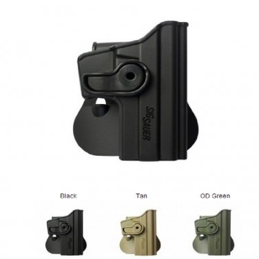 IMI OD Green Polymer Retention Roto Holster for Sig Sauer 229 (.40/357) use  IDF