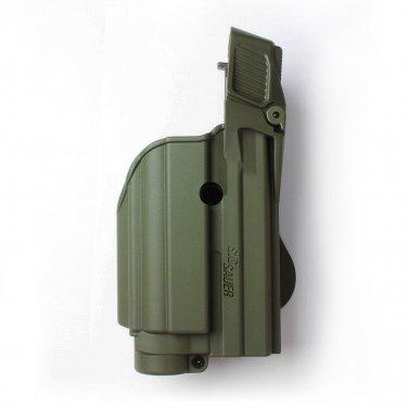 OD Green Tactical holster tactical light/laser level II SIG Sauer Sig Pro 2022