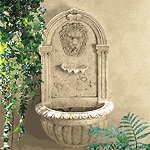 32428 Lion Head Wall Fountain