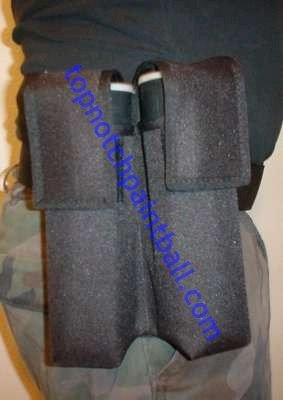 2 pod paintball pouch without belt