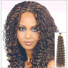 "Human Hair Deep Bulk  Braid 12"""