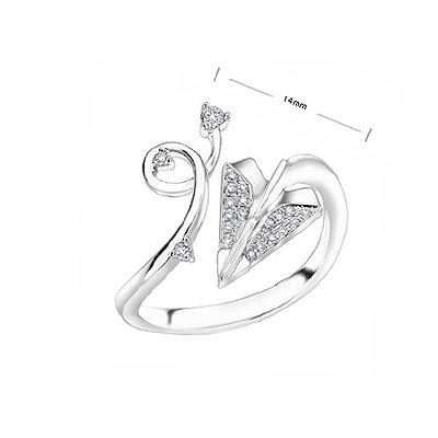 Love Cupid Arrow Aeroplan alike Fashion Diamond Ring