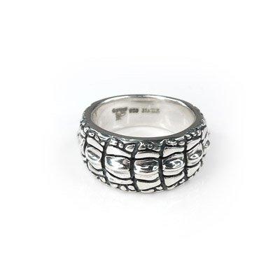 SWEET COUPLE Necklace Ring Crocodile Animal Pattern