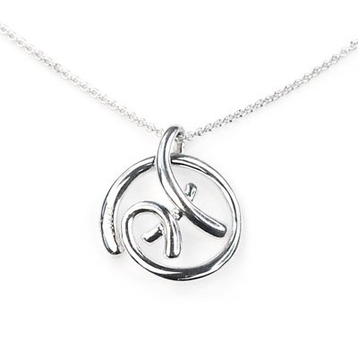 Pisces Horoscope Zodiac Silver Fancy Fashion Necklace