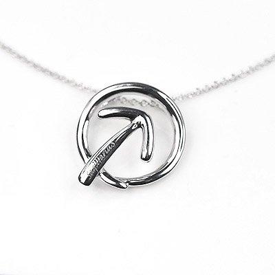 Sagittarius Horoscope Zodiac Love Arrow Silver Necklace