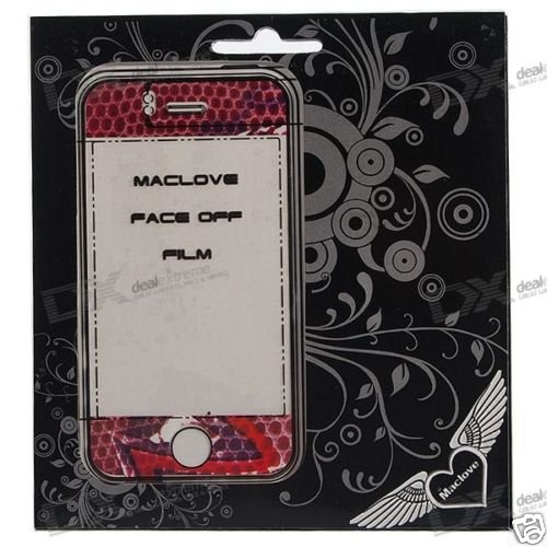 Textured Tattoo Screen Protector for Iphone