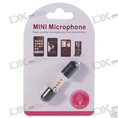 Mini Microphone for iPhone 3G/iPod /MP3/MP4