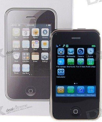 "2.4"" Touch screen Dual SIM Quad-band GSM Cellphone"
