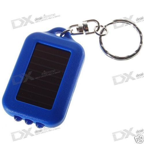 3-LED  Solar Powered Self-Recharge Flashlight