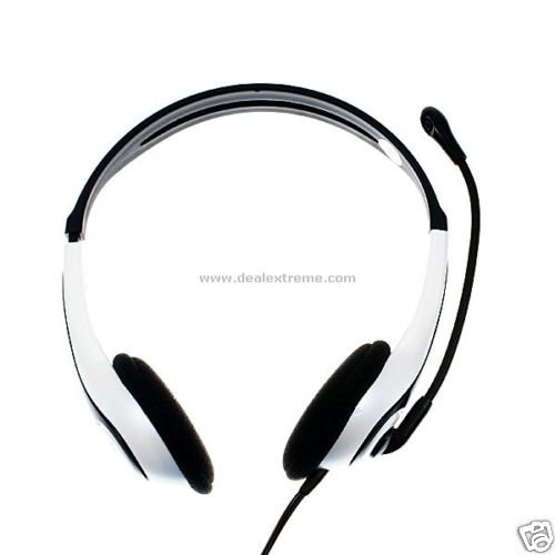 Deluxe VOIP Headset with Microphone