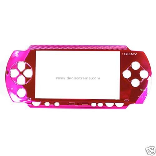 Metallic Pink Face Plate for sony PSP