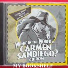 Where in the World is Carmen San Diego CD-Rom for Windows