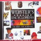 Webster's Concise Encyclopedia CD-Rom for Windows