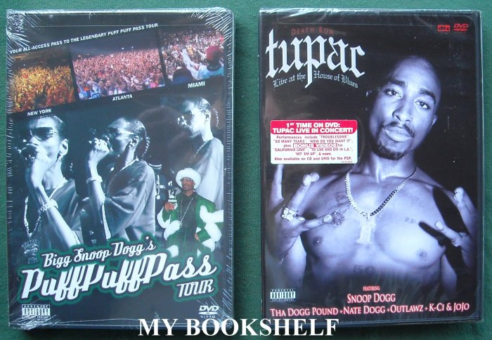 BOGO Bigg Snoop Dogg's Puff Puff Pass Tour DVD