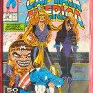 Marvel Comics Captain America Diamondback deep sixed by Snapdragon # 388 1991
