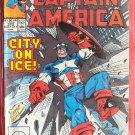 Marvel Comics Captain America City on ice # 372 1991