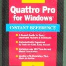 Quattro Pro for Windows ISBN 078211041X