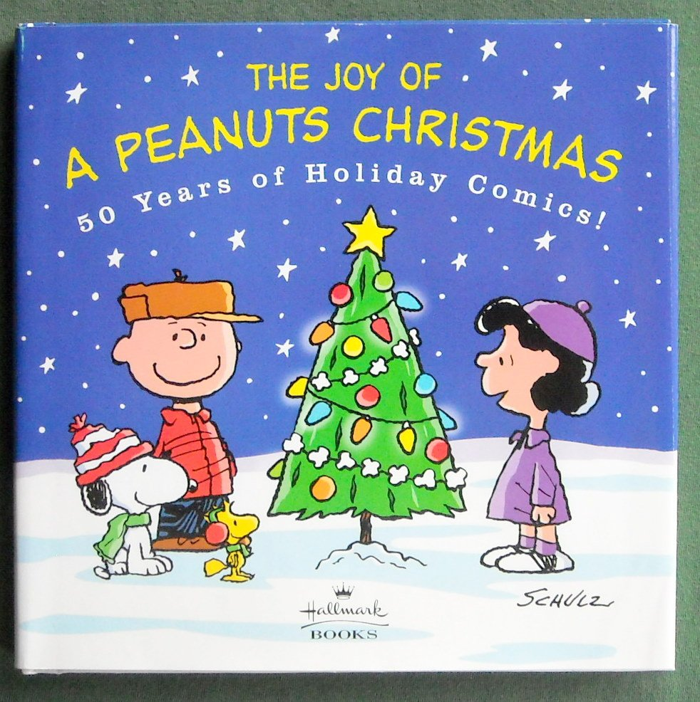 The Joy Of A Peanuts Christmas hardcover