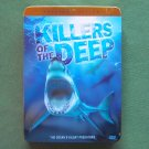 Killers of the deep oceans predators tin case DVD set