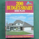 200 Budget Smart Home Plans Blue Ribbon ISBN 0918894972