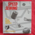Speed sewing hardcover ISBN 0442224885