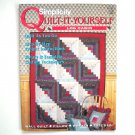 Simplicity Quilt It Yourself Log Cabin Paperback Booklet 1994