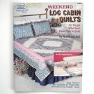 Weekend Log Cabin Quilts Marti Michell Paperback 1991