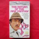 The Return of the Pink Panther VHS ISBN 0784002924