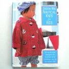 Debbie Bliss Nautical Knits for Kids Hardback pattern book