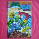 The Savage Dragon vs Megaton Man # 1 Image Comics 1992