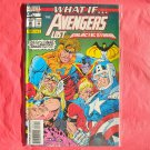 Marvel Comics What if Avengers lost Operation Galactic Storm # 56 1993